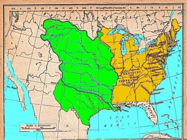 Map Of France 1800.Historial Maps Louisiana 1800 1804